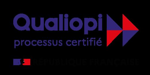 LOGO Processus certifié Qualiopi